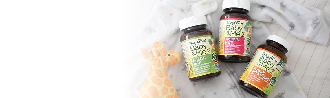 Kosttillskott för gravida och ammande