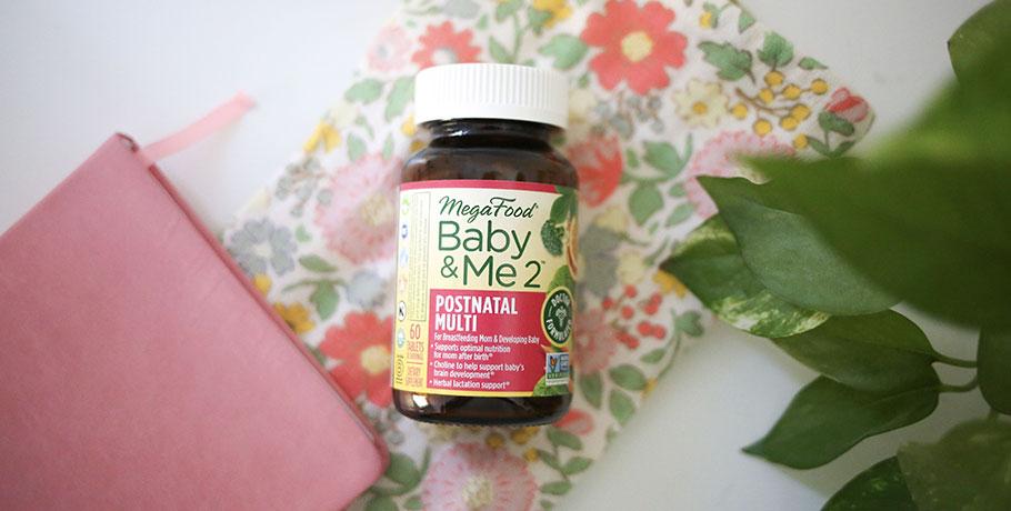 Baby & Me 2 Postnatal Multi från MegaFood