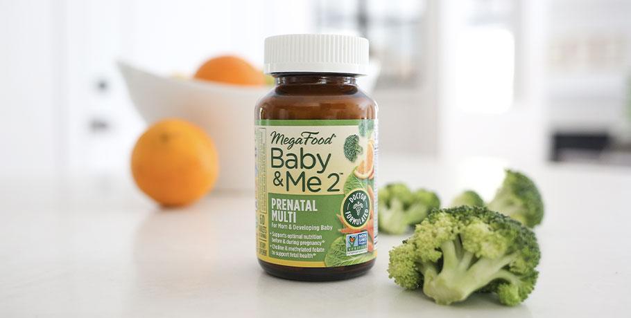 Baby & Me 2 Prenatal Multi från MegaFood
