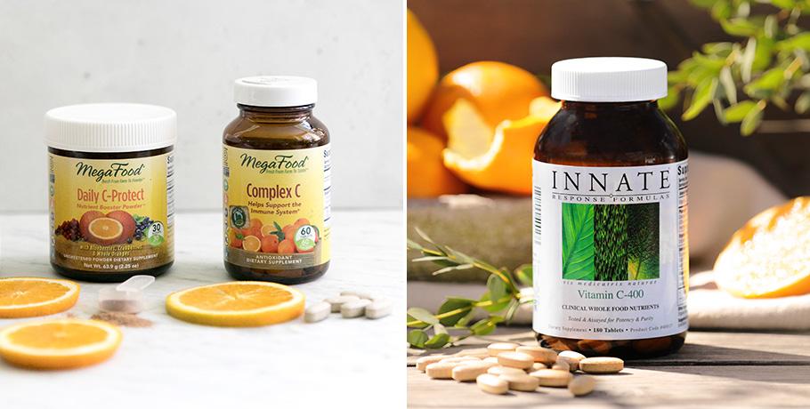 Skillnad mellan olika kosttillskott av C-vitamin