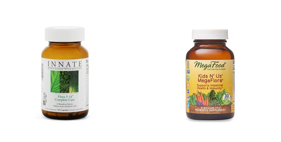 Flora 5-14 Complete Care Probiotika och Kids N' Us™ MegaFlora®