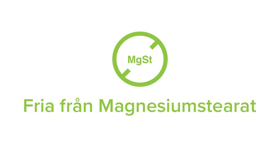 Fria från Magnesiumstearat