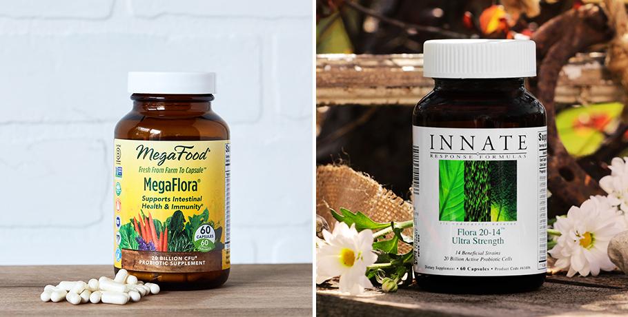 Flora 20-14 Ultra Strength Probiotika och MegaFlora®