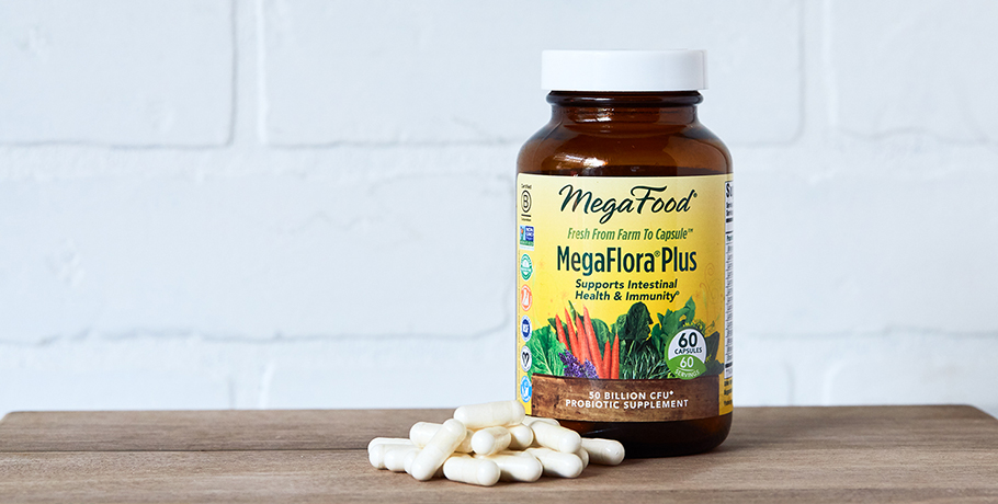 Flora 50-14 Clinical Strength Probiotika och MegaFlora® Plus