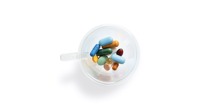 Överanvändning av antibiotika är en vanlig orsak till candida