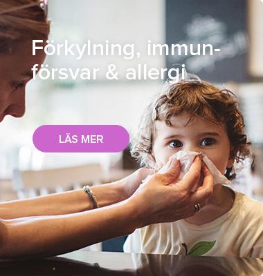 Förkylning, immunförsvar & allergi