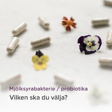 Probiotika från Innate Response och MegaFood