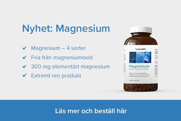 Köp Magnesium från Greatlife